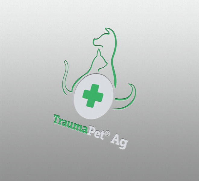 Logotyp pro produkty TraumaPet společnosti NanoComplex.