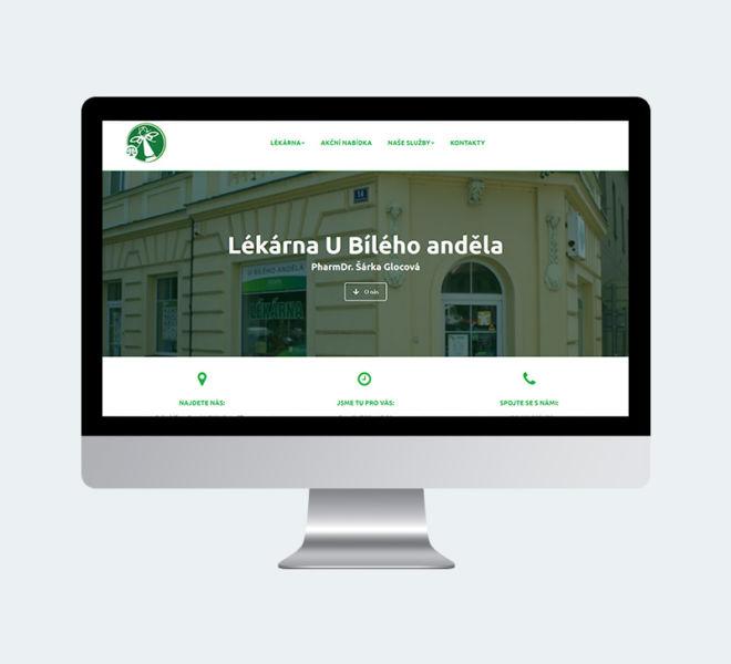 Lékárna Jevíčko - webové stránky