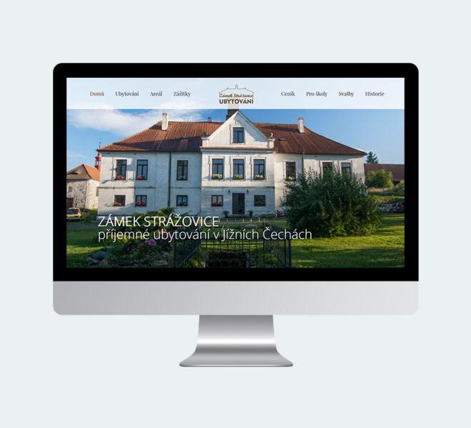 Zámek Strážovice - webové stránky